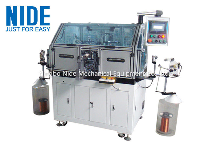 Seat Adjustment Motor Armature Winding Machine Automatic Single Working Station