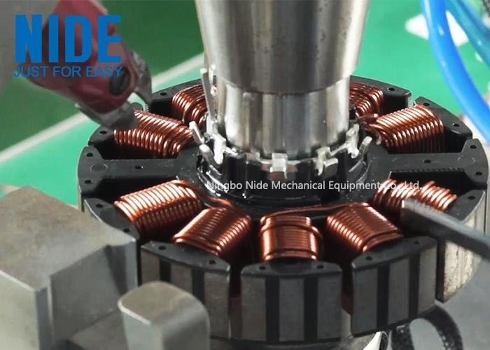 BLDC Armature Needle Coil Winding Machine For Brushless Motor 120 Rpm Efficiency