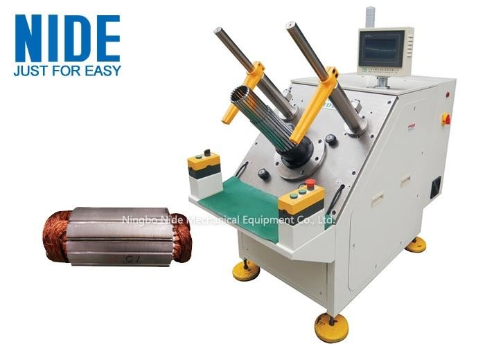NIDE Semi-auto Single phase stator winding inserting machine for micro induction motors