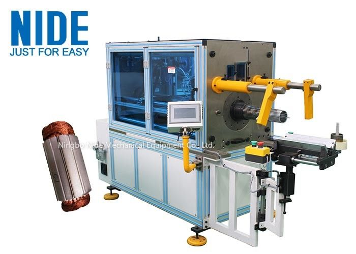 Automatic Horizontal Coil Inserting Machine With Wedge Feeding Mode , Controlled by PLC