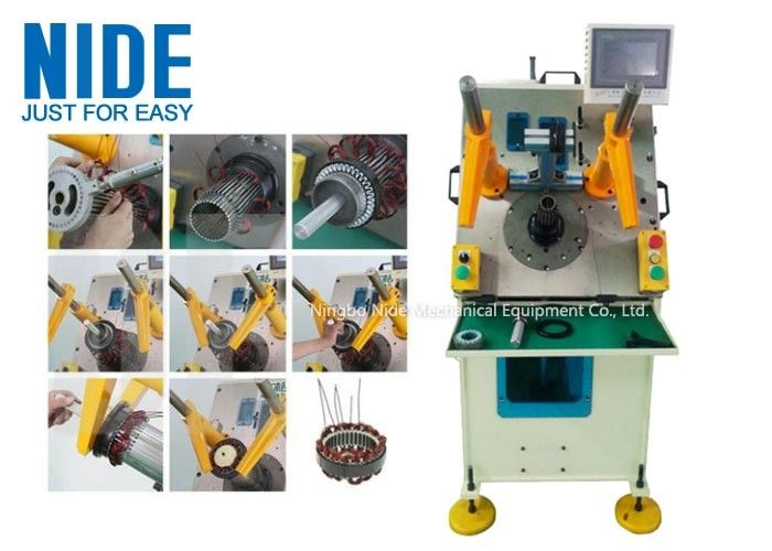 Automatic Stator Winding Coil & Wedge Inserting Machine With PLC control