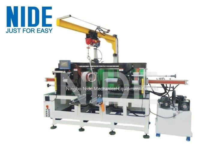 Horizontal Motor Stator Winding Forming Machine With Auto Feeding Device
