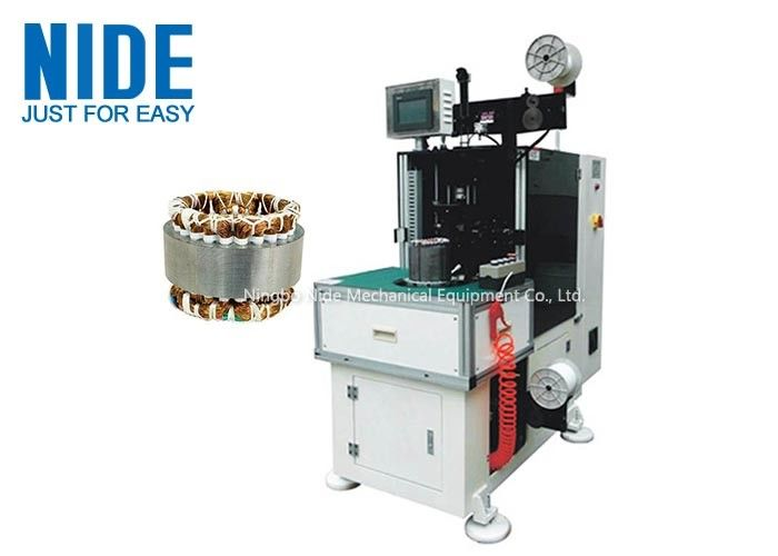 Vertically Type Lacing Machine Inuction Motor Stator Single Head Winding